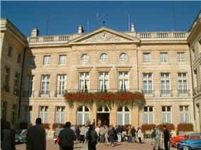 Prefecture building of the Côte-d'Or department, in Dijon