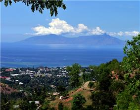Dili with Atauro Island in background