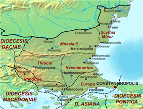 Location of Haemimontus