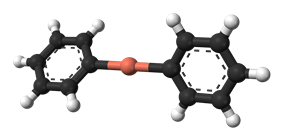 Diphenylcuprate anion from crystal structure