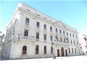 Provincial Palace (s. XIX) in Burgos, seat of the Diputación de Burgos, the province governing body