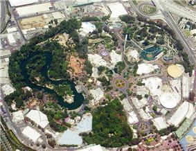 Disneyland in 2005