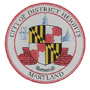 Official seal of District Heights, Maryland