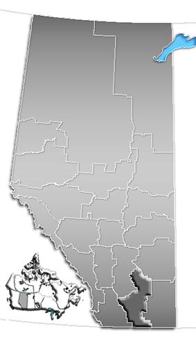 Alberta Census Divisions