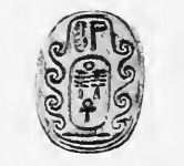 Steatite scarab of pharaoh Djedankhre Montemsaf reading