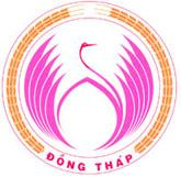 Official seal of Đồng Tháp Province