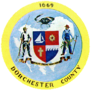 Seal of Dorchester County, Maryland