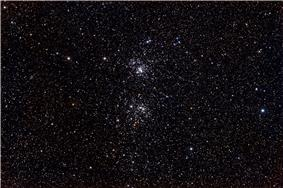 Caldwell 14 - The Double Cluster taken by /u/ItFrightensMe