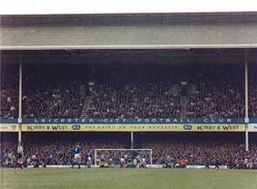 Inside Leicester City's stadium, Filbert Street