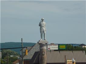 Doughboy StatueWest Main Street and Diamond Street