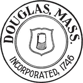 Official seal of Douglas, Massachusetts