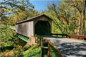 Lee's Creek Covered Bridge