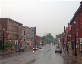 North Main-Bank Streets Historic District