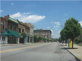 Franklin Avenue downtown