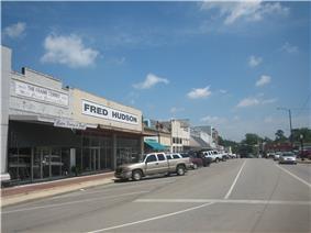 Downtown Center, Texas