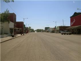 Downtown De Smet, South Dakota