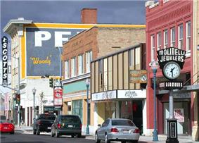 Historic downtown Pocatello in 2007