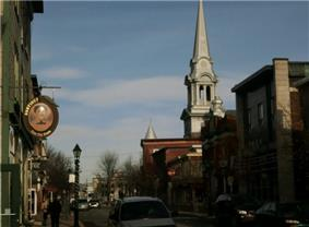 Rue Notre Dame, Downtown Thetford Mines