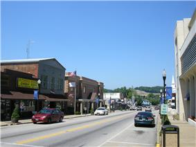 Downtown West Liberty, 2007