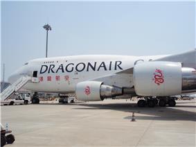 Dragonair Boeing 747-400BCF freighter