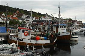 Drøbak from harbor area