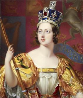 English Queen Victoria