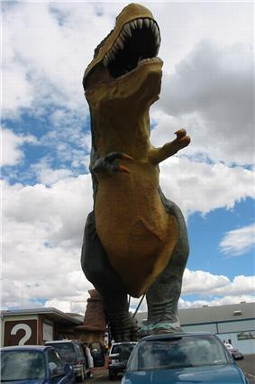 Drumheller T-rex