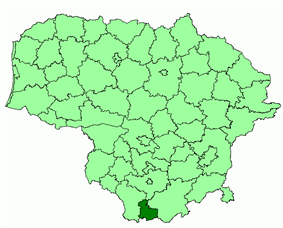 Location in Lithuania