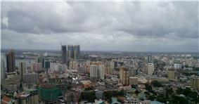 Dar es Salaam city skyline
