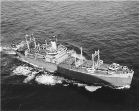 USS DuPage (APA-41), on 13 October 1943