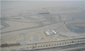Dubai Autodrome and surrounding areas of Al Barsha