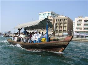 Abra on Dubai Creek