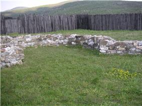 Ruins of a Moravian fortress
