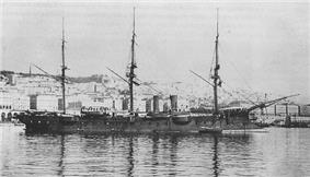 French warship Duguay-trouin.