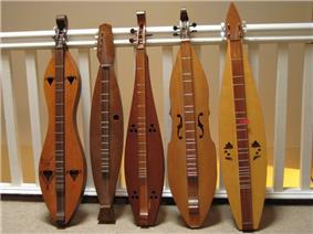 Five stringed instruments