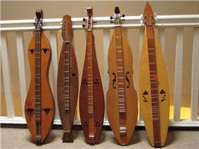 Five stringed instruments