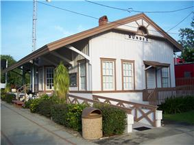 Old Dundee ACL Railroad Depot