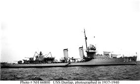 USS Dunlap (DD-384)