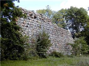 Durbe castle ruins