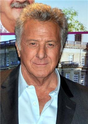 Photo of Dustin Hoffman attending the French premiere of his film, Quartet in 2013.