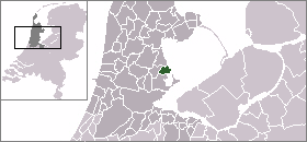 Location of Volendam