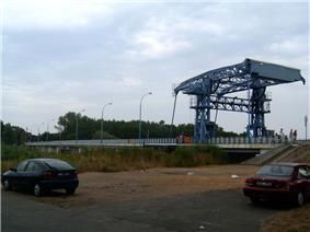 Bascule bridge in Dziwnów