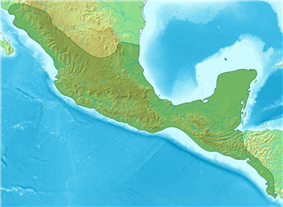Caracol is located in Mesoamerica