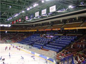 E Center Interior Olympic Venue