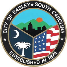 Official seal of Easley