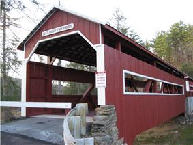 Twin Bridges-East Paden Covered Bridge No. 120