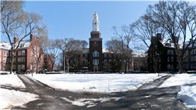 The east quadrangle of Brooklyn College