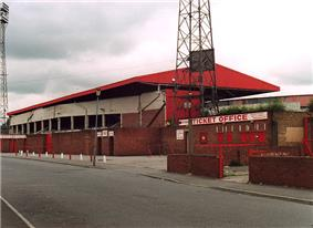 Middlesbrough's former stadium, Ayresome Park