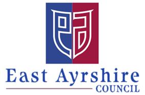 Official logo of East AyrshireAest AyrshireSiorrachd Inbhir Àir an Ear
