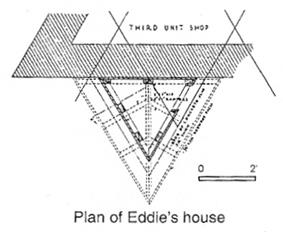 the floor plan for Eddie's House.